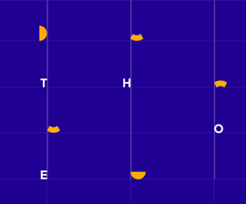 """This """"grid"""" was created to express the connection between THF and AI research"""