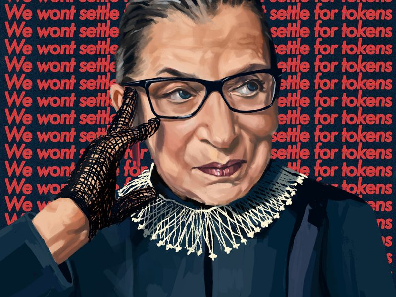 """Ruth Bader Ginsburg knew the importance of studying the competition, knowing her audience, and using the law to build air-tight strategies to advance who """"we the people"""" stands for. Had we followed her foundationally sound approach in Roe v. Wade, reproductive rights wouldn't be vulnerable to reversal today."""
